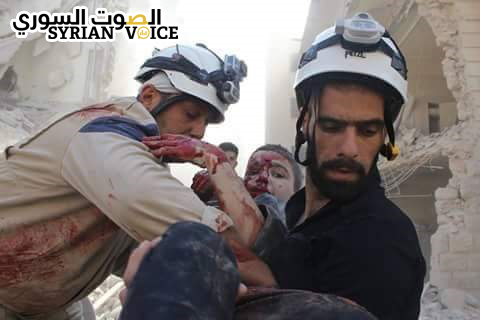 The Civil Defense in Aleppo pays for its dangerous work with 39 dead first responders