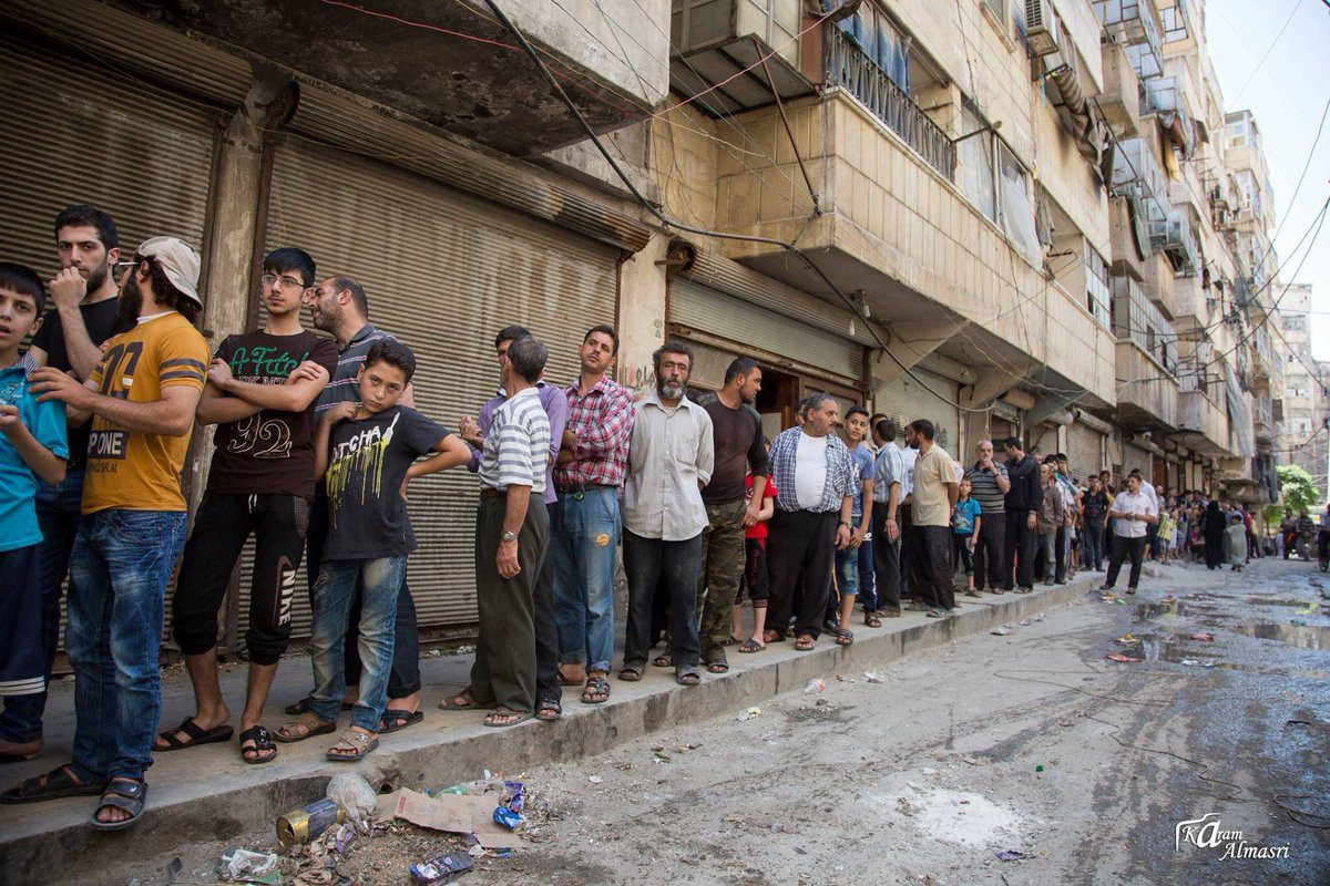Safe passage and food parcels: Russian and regime propaganda in Aleppo