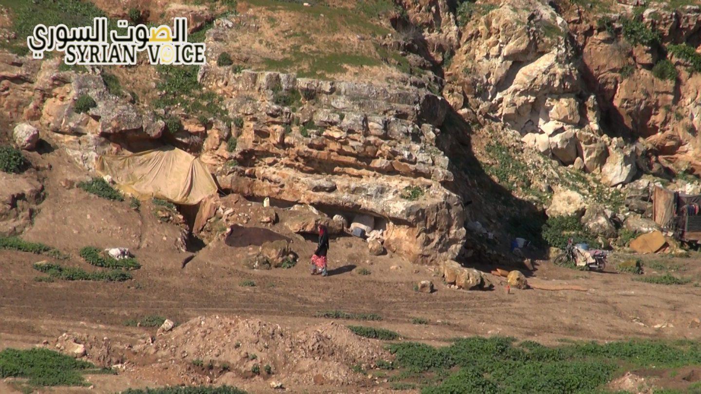 Hama civilians live their lives underground