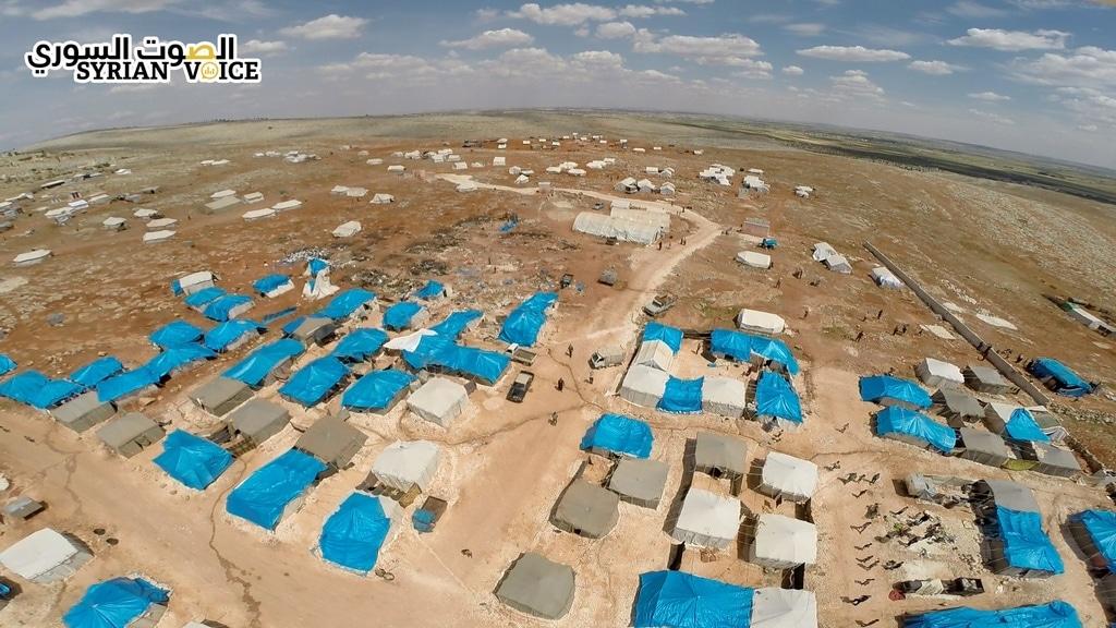 مخيمات حماة 2