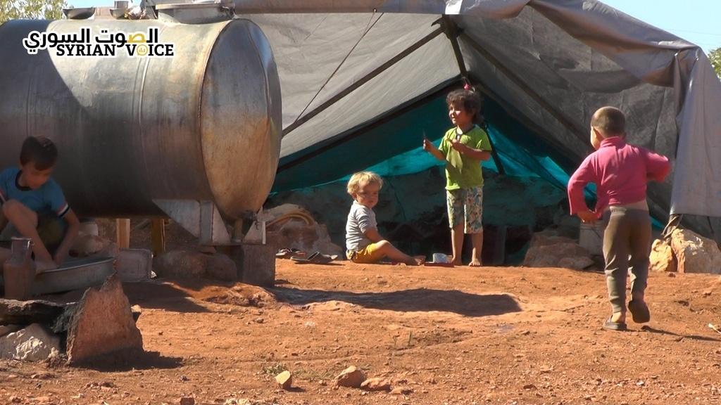 مخيمات حماة 4