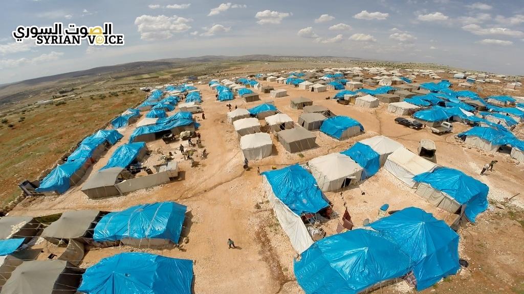 """""""بنفسج"""" تطرح مناقصة لتحسين الخدمات في مخيمات """"اعزاز"""" شمال حلب"""
