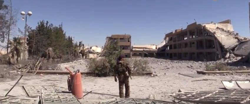 International coalition warplanes massacre civilians north of Manbij