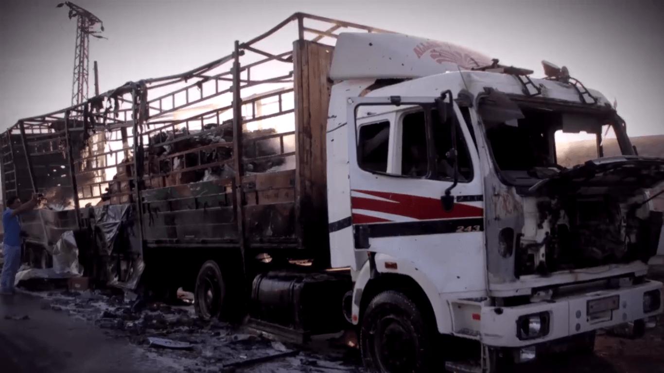 إنفوغرافيك فيديو عن الهلال الأحمر السوري