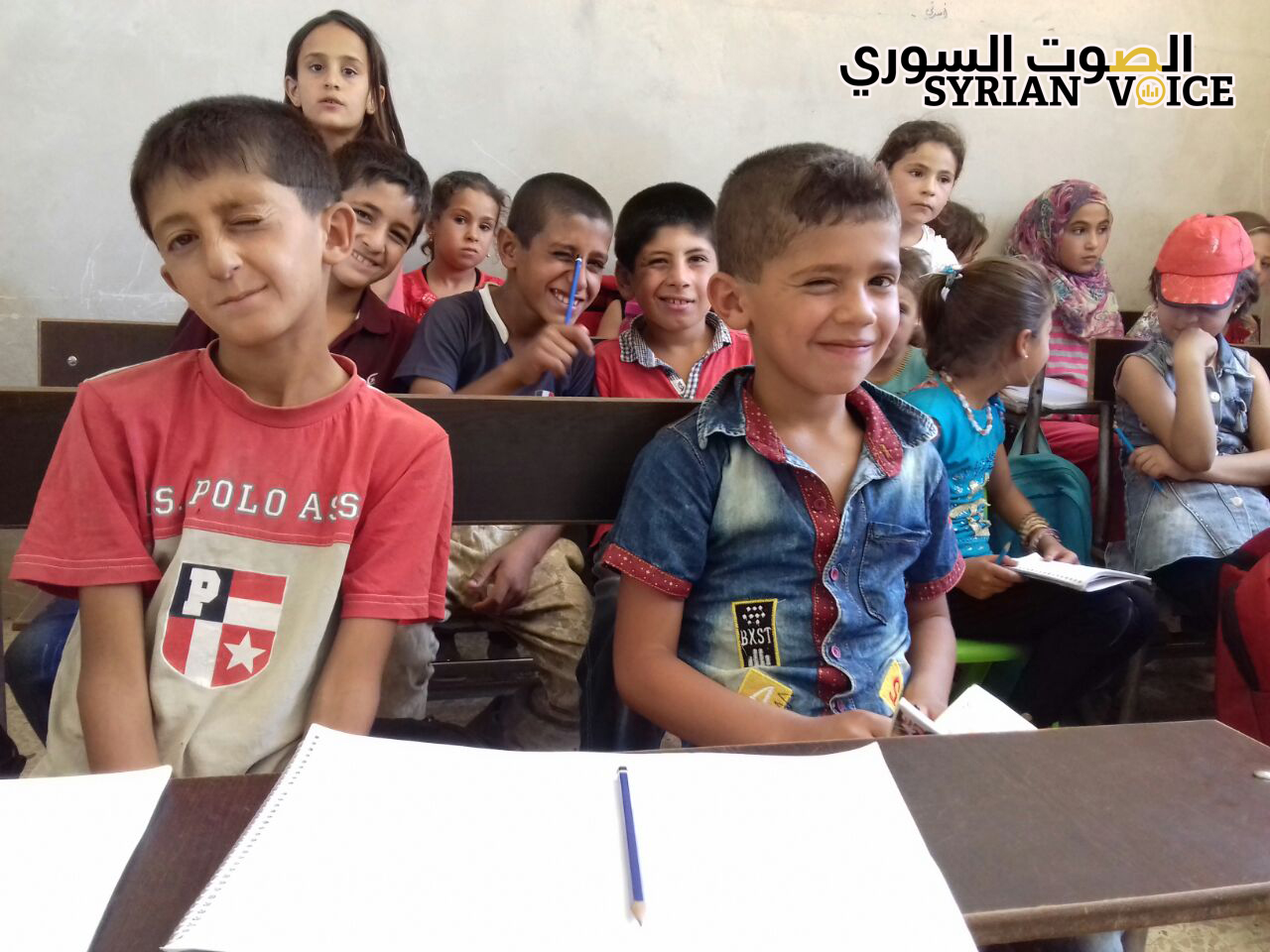 In rebel-controlled Idlib regime schools continue to operate alongside opposition alternatives